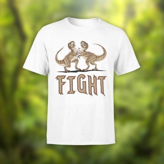 "Funny T-Shirts ""Fight"". Cool T-Shirts."