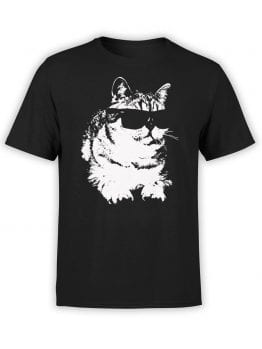 """Cat T-Shirts """"Deal With It"""" Funny T-Shirts"""