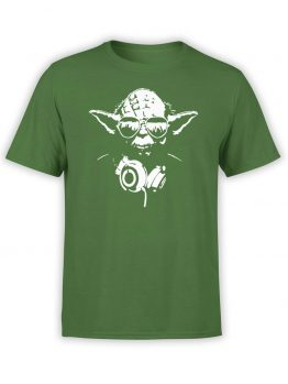 "Star Wars T-Shirt ""DJ Yoda"". Funny T-Shirts."
