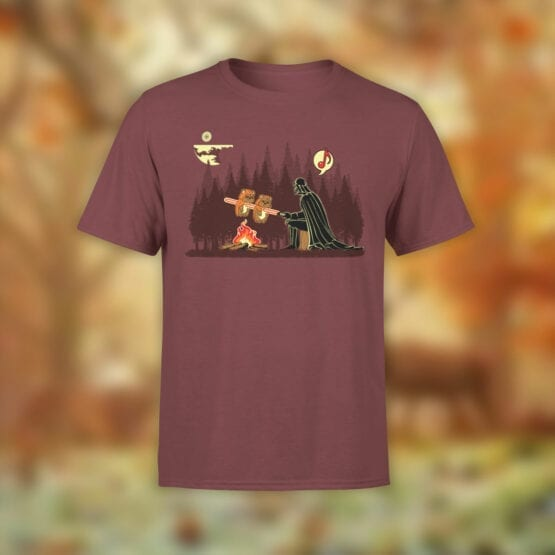 "Star Wars T-Shirt ""Darth Vader Grilling Ewoks"". Funny T-Shirts."