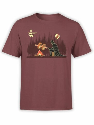 "Star Wars T-Shirt ""Darth Vader Grilling Ewoks"". Funny T-Shirts."