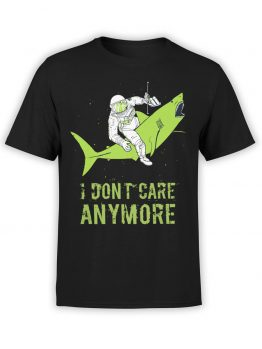 "Funny T-Shirts ""Don't Care"". Cool T-Shirts."