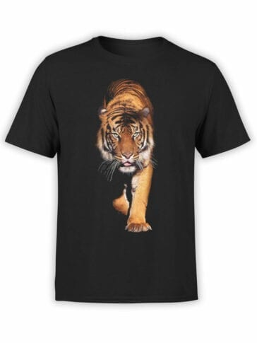 "Cat T-Shirts ""Tiger"" Funny T-Shirts"