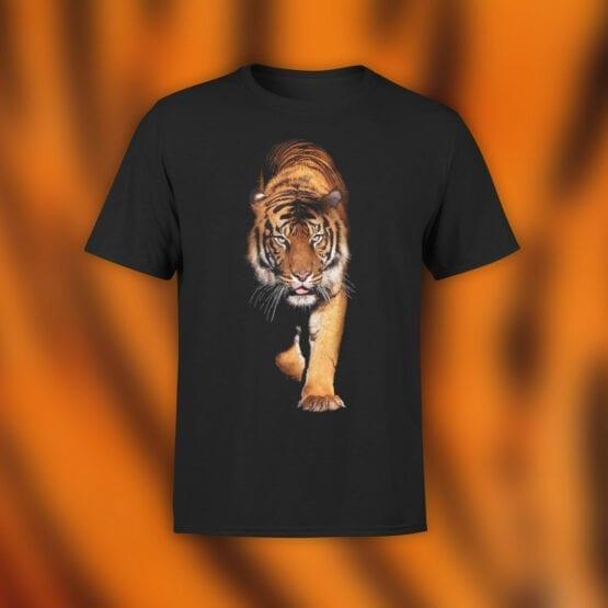 "Cat T-Shirts ""Tiger"" Funny T-Shirts"