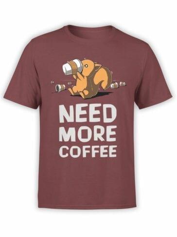 "Funny T-Shirts ""Coffee"". Cool T-Shirts."
