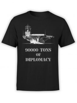 "Funny T-Shirts ""Diplomacy"". Cool T-Shirts."