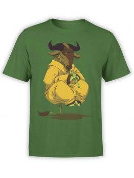 """Funny T-Shirts """"Gnu"""". Cool T-Shirts."""