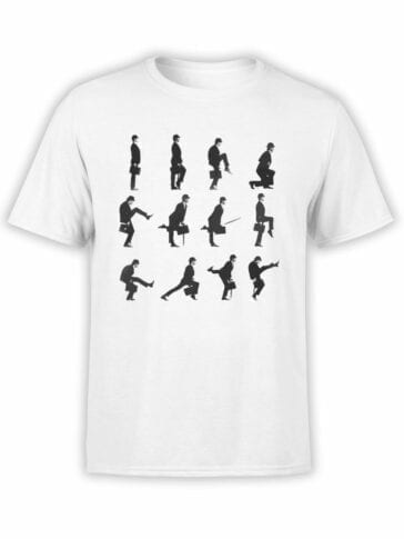 """Monty Python T-Shirts """"Ministry Of Silly Walks"""". Funny T-Shirts."""
