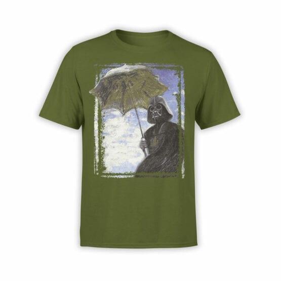 "Star Wars T-Shirt ""Monet: Darth Vadert"". Cool T-Shirts."