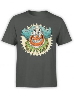 "Scary T-Shirts ""Evil Clown"". Cool T-Shirts."