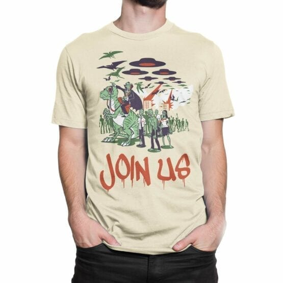 """Funny T-Shirts """"Join Us"""". Cool T-Shirts."""