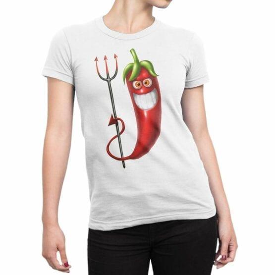 """Cool T-Shirts """"Evil Chili"""""""