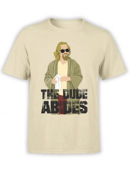 "The Big Lebowski T-Shirts ""The Dude Abides"""