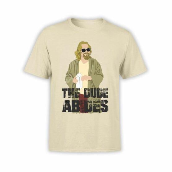 "The Big Lebowski T-Shirts ""The Dude Abides"""