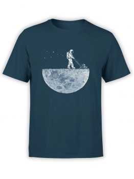 "Funny T-Shirts ""Moon"". Cool T-Shirts."
