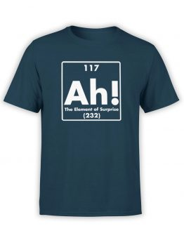 "Funny T-Shirts ""Ah!"". Cool T-Shirts."