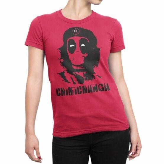 "Funny T-Shirts ""Chimichanga"". Cool T-Shirts."