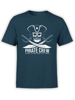 "Pirate T-Shirt ""Pirate Crew"". Cool T-Shirts."
