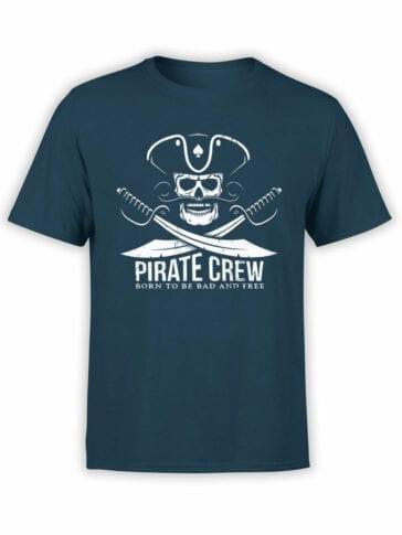 "Pirate T-Shirt ""Pirate Crew"". Cool T-Shirts."