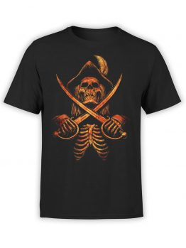 "Pirate T-Shirt ""Pirate Skeleton"". Cool T-Shirts."