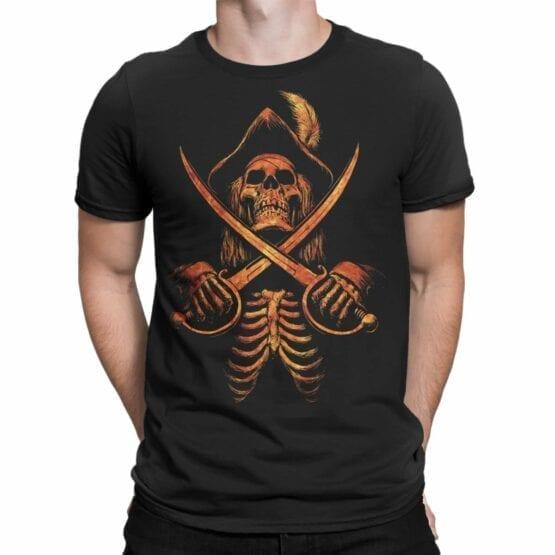 """Pirate T-Shirt """"Pirate Skeleton"""". Cool T-Shirts."""