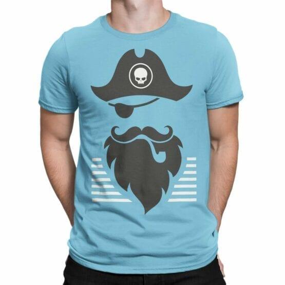 """Pirate T-Shirt """"Pirate Beard"""". Cool T-Shirts."""