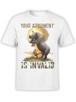 "Crazy T-Shirts ""Argument"". Funny T-Shirts."