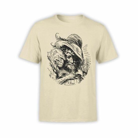 """Pirate T-Shirt """"Pirate and Monkey"""". Cool T-Shirts."""