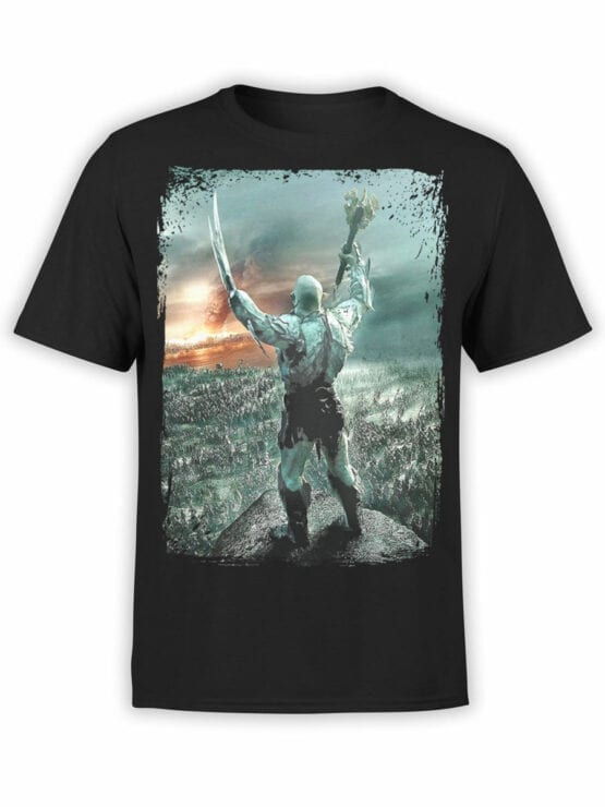 0303 Lord of the Rings T Shirt Azog Front