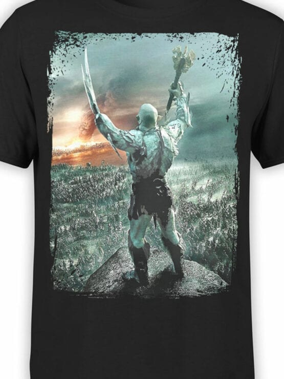 0303 Lord of the Rings T Shirt Azog Front Color
