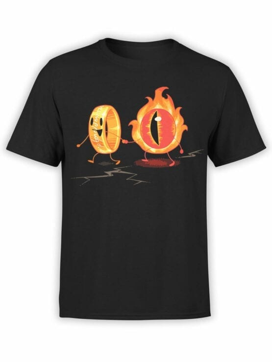 0316 Lord of the Rings T Shirt Friendship Front
