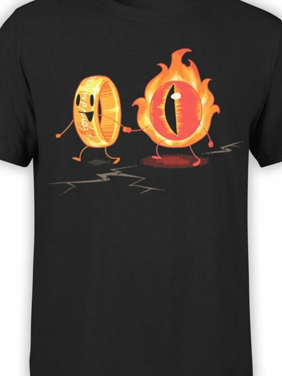 0316 Lord of the Rings T Shirt Friendship Front Color