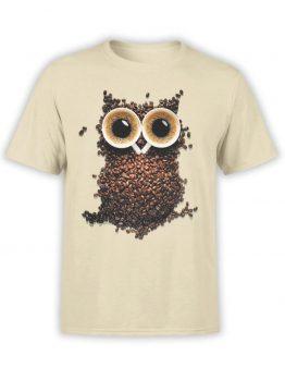 "Cool T-Shirts ""Coffee Owl"""