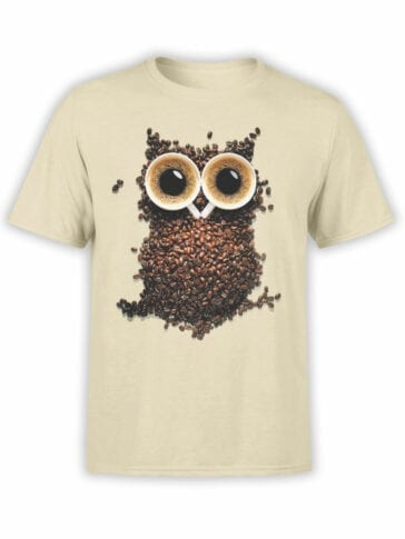 "Cool T-Shirts ""Coffee Owl"""