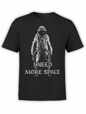 """Space T-Shirt """"More Space"""""""