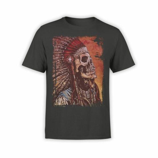 """Skull T-Shirt """"Indian"""""""