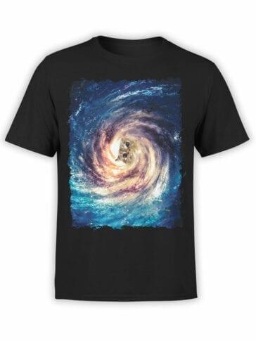 "Cat Shirts ""Galaxy Cat"". Cool T-Shirts."