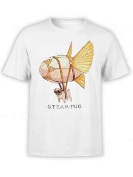 "Cool T-Shirts ""Steam Pug"""