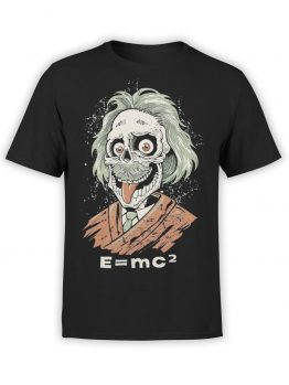 "Funny T-Shirts ""Zombie Einstein"". Cool T-Shirts."