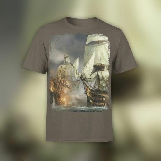 "Cool T-Shirts ""Sea Battle"""