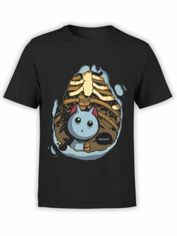 "Funny T-Shirts ""Kitten Inside"". Cool T-Shirts."