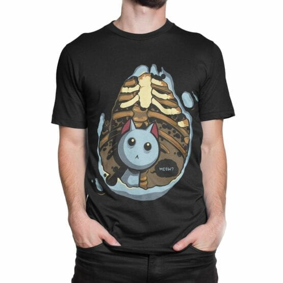 "Funny T-Shirts ""Kitten Inside"". Cool T-Shirts."