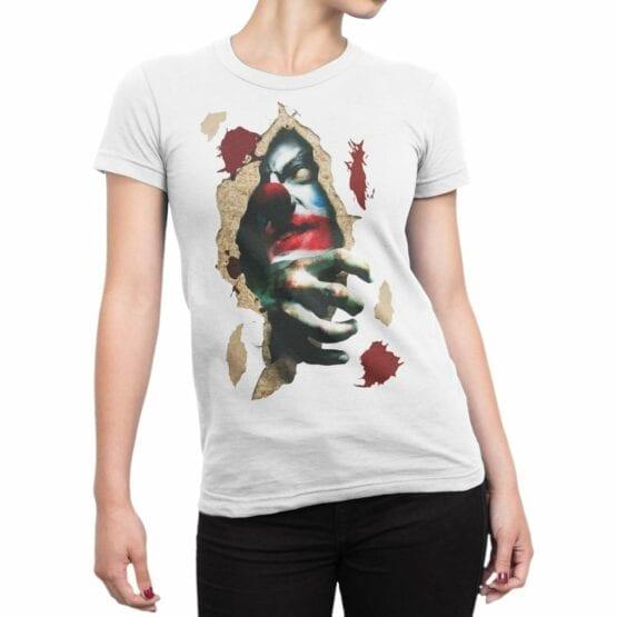 """Horror T-Shirts """"Clown"""". Cool Shirts."""