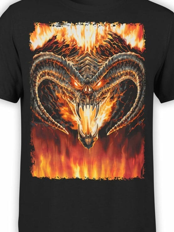 0360 Lord of the Rings T Shirt Balrog Front Color