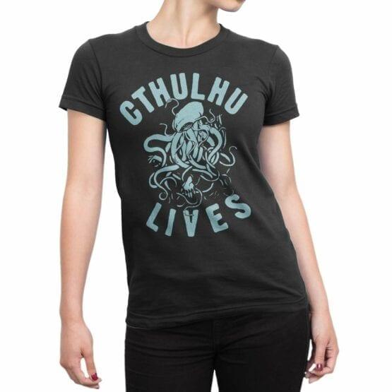 "Cool T-Shirts ""Cthulhu Lives"""