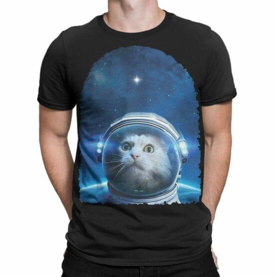 """Cat Shirts """"Astrocat""""."""