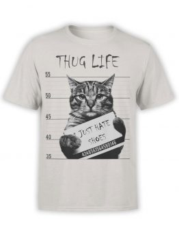 "Cat Shirts ""Thug Life""."