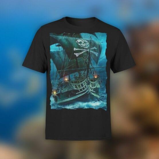 "Pirate T-Shirt ""Pirate Ship"". Cool T-Shirts."
