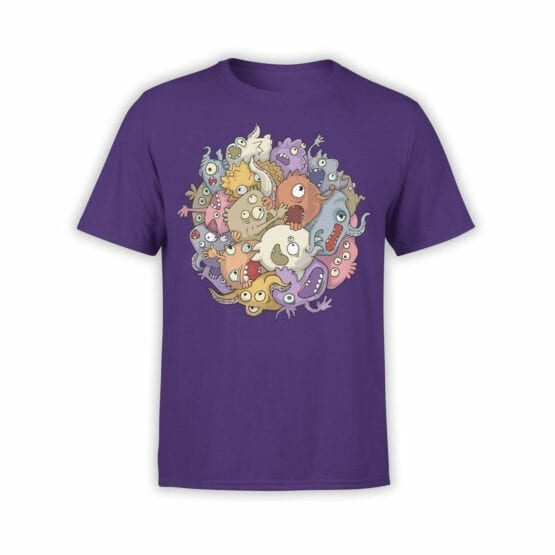 """Funny T-Shirts """"Monsters"""". Cool T-Shirts"""