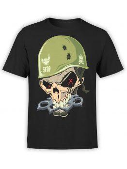 """Skull Shirt """"Brass Knuckles"""""""